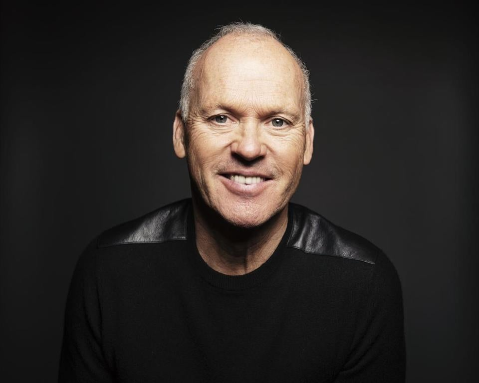 "Actor Michael Keaton poses for a portrait in promotion of his upcoming role in the film ""Birdman or The Unexpected Virtue of Innocence"" in New York."