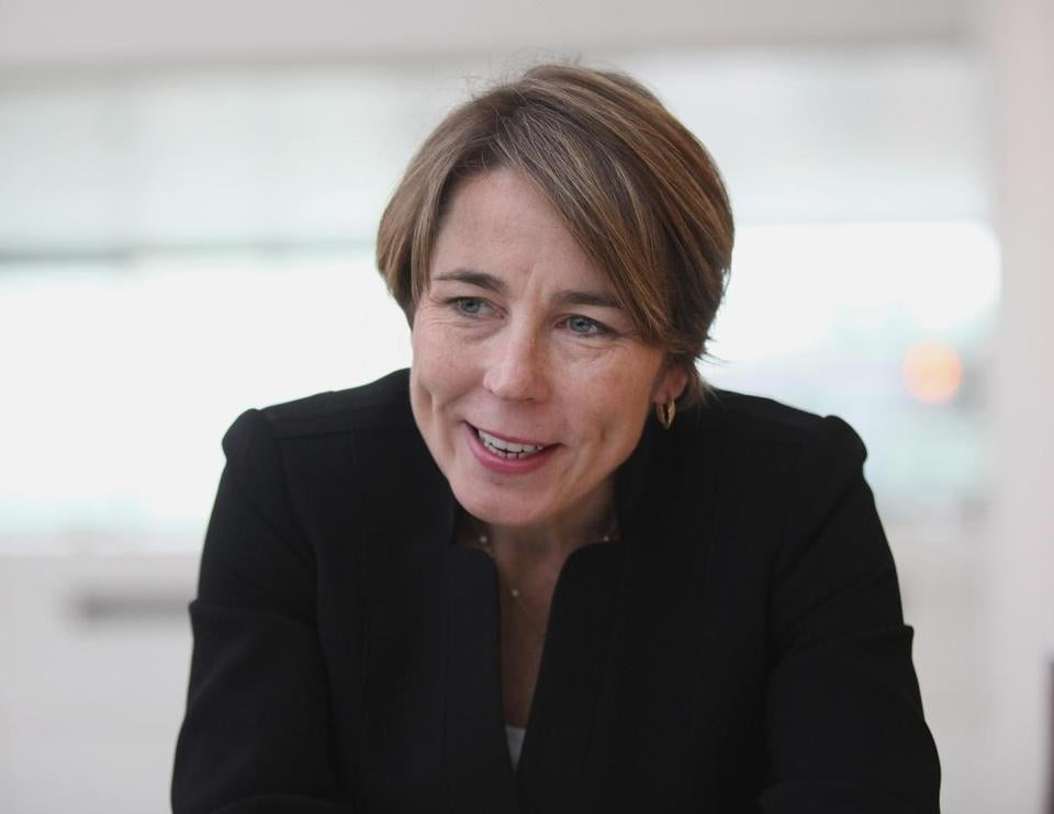 Boston, MA 110614 Attorney General elect Maura Healey (cq) addressed a group of environmentalists at a conference on the Challenges and Opportunities of the Evolving Electric Grid at JFK Library in Boston, Thursday, November 6 2014. () section: Metro slug: 07healeyreporter: Akilah Johnson