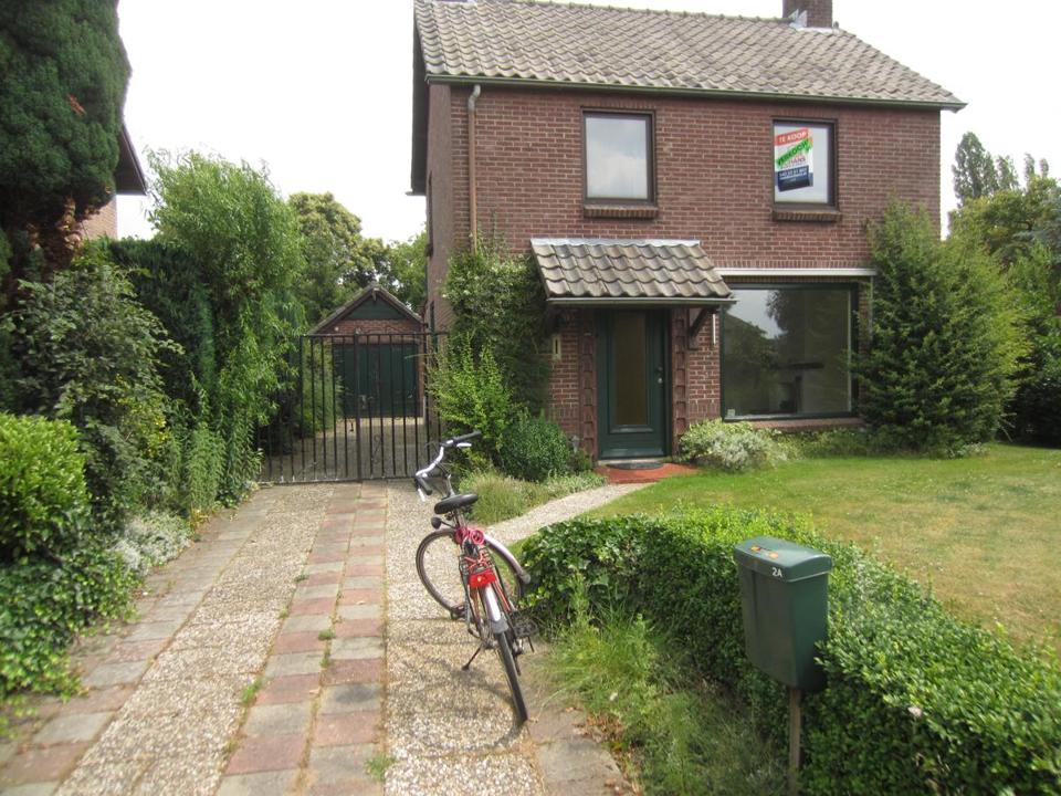 Vijverstraat house in Veldhoven, just after Diane and Lina purchased it.