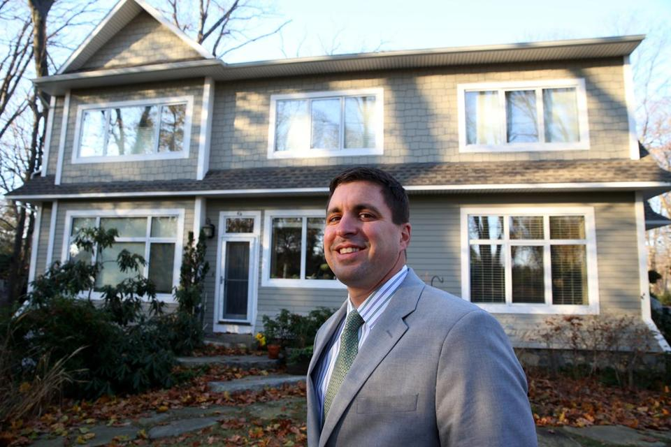 Matt Beaton's home is one of the most energy efficient in the state.