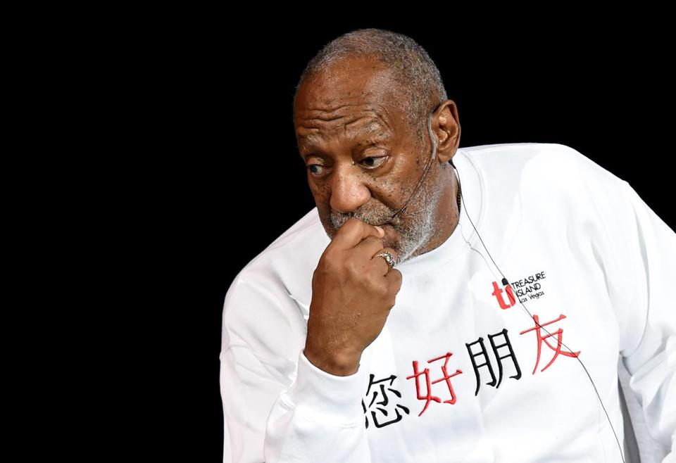 Recent rape allegations against actor-comedian Bill Cosby have affected his career.