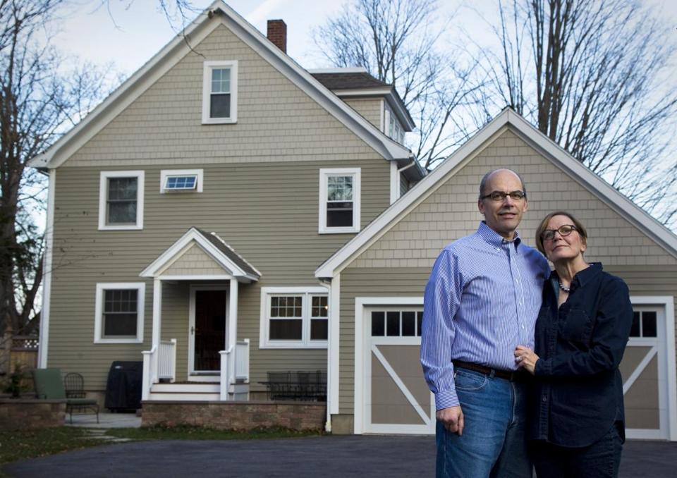 Joe Randazzo and Margie Florini said the great bones of this circa 1910 home and its location and setting trumped all the work it needed.