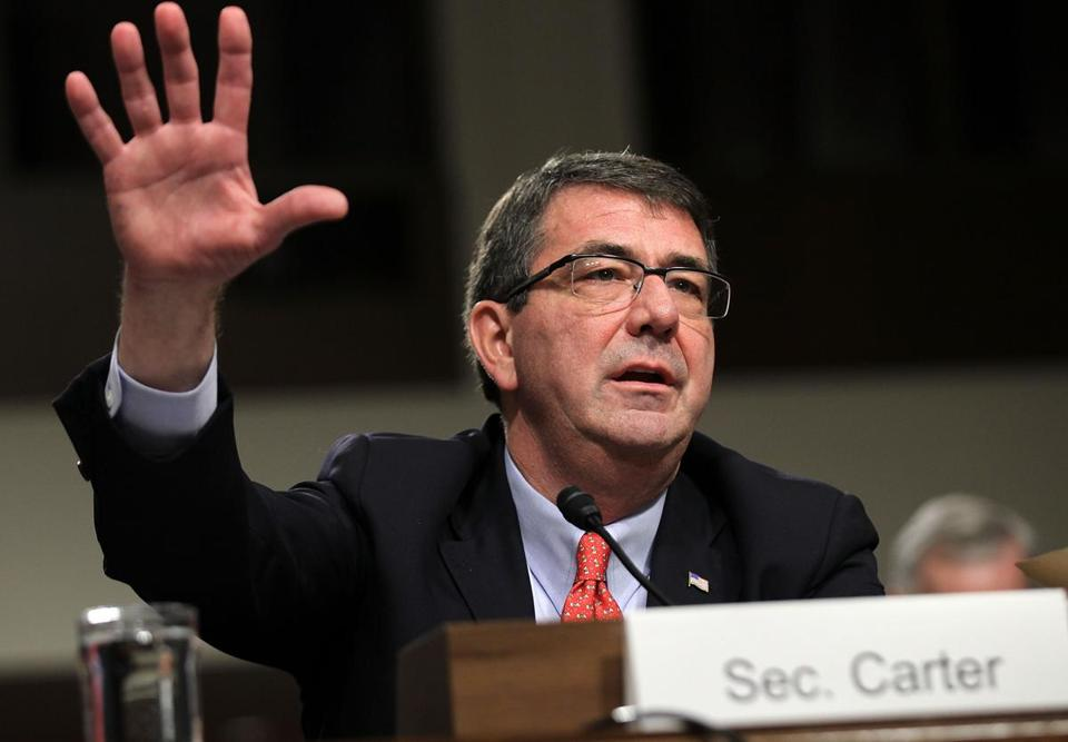 Secretary of Defense Ashton Carter.