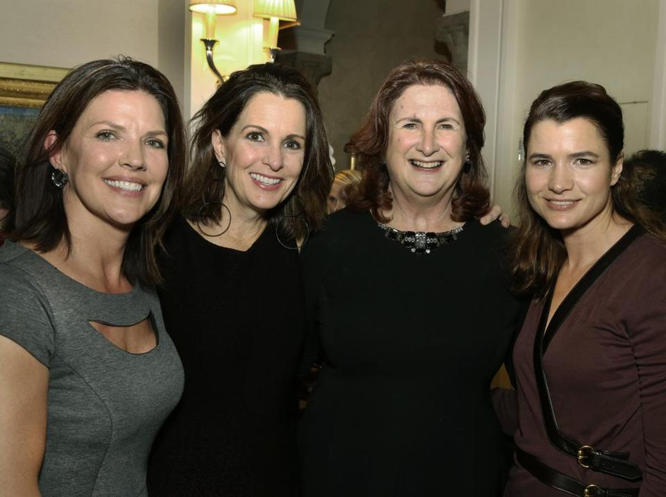 Pictured from left: Debbie DiMasi, Stacey Lucchino, Roberta Hurtig, and Christy Cashman.