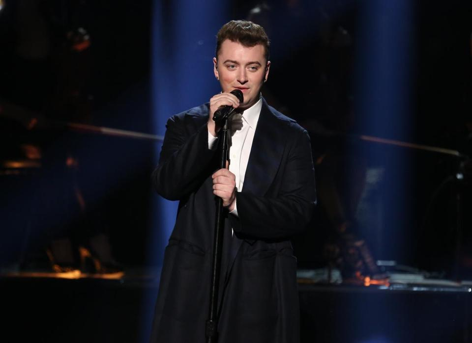 Sam Smith is nominated for Record of the Year and Best New Artist.