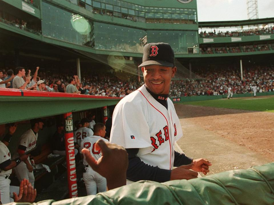 Pedro Martinez played for the Red Sox from 1998 to 2004.