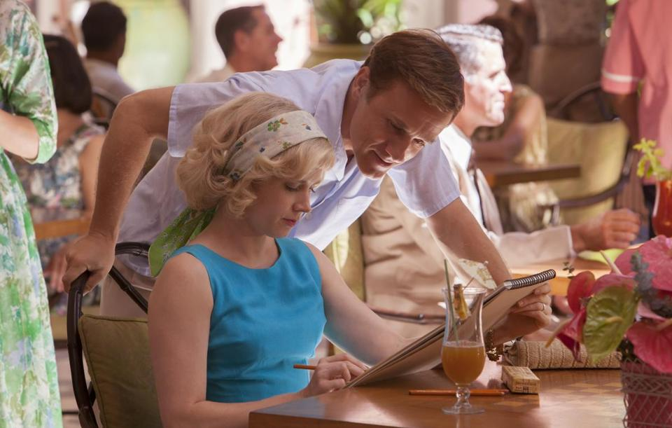 "Amy Adams and Christoph Waltz in ""Big Eyes,"" directed by Tim Burton."