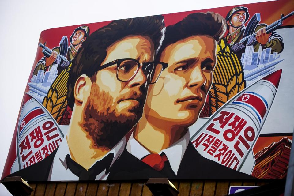 "Sony canceled its Christmas release of ""The Interview"" in response to threats from hackers."