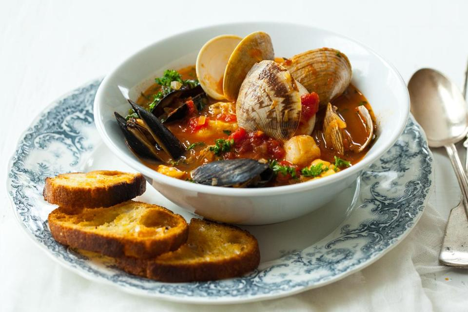 Recipe for seafood stew