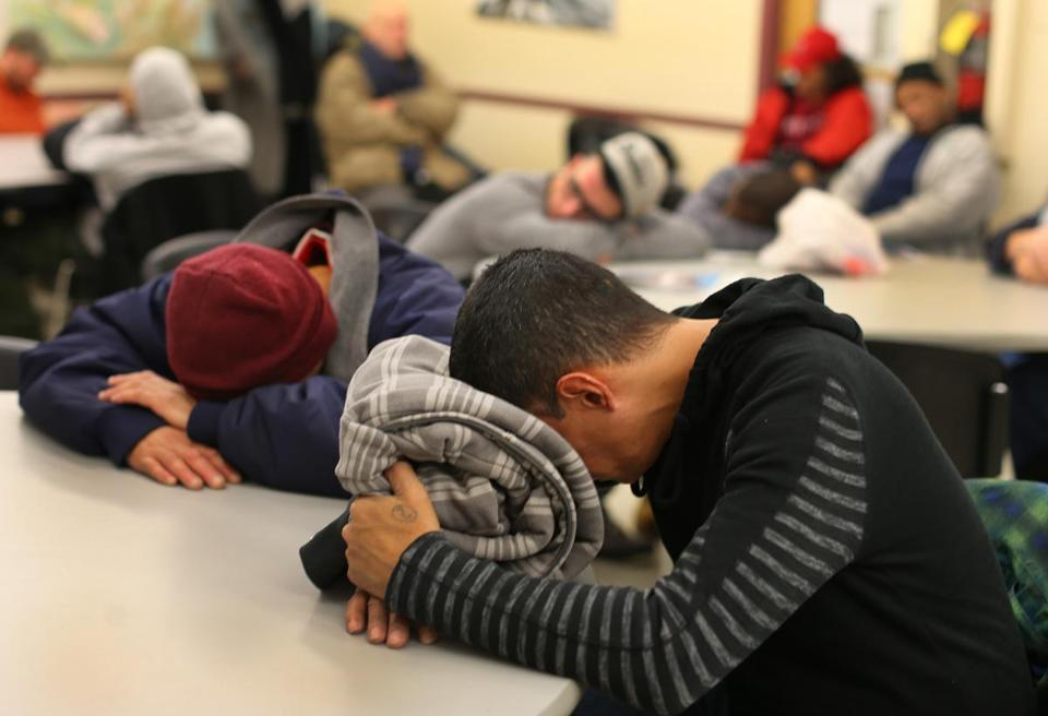 St. Francis House in downtown Boston has seen a sharp rise in homeless people needing help since the recent closing of the Long Island shelter.