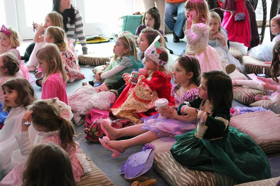11winterfest - Children love to dress up for the Princess Party held during the Newport Winter Festival (Discover Newport).