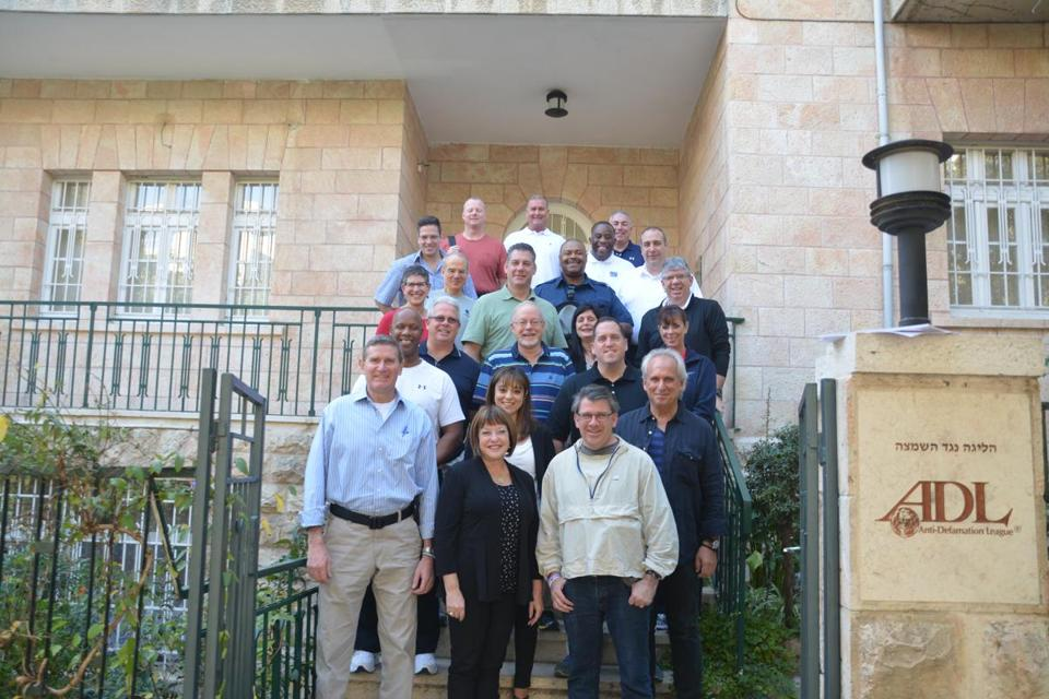 Local officials at a counter-terrorism seminar in Jerusalem.