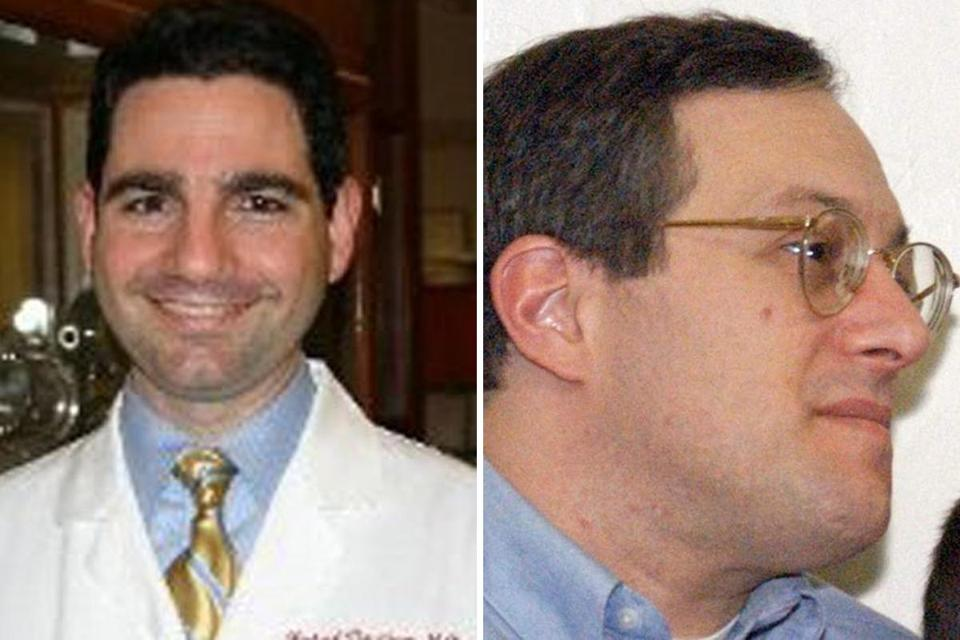 "A preliminary investigation suggested Dr. Michael Davidson's assailant, Stephen Pasceri (right), ""had some issue"" with prior medical treatment of his mother."
