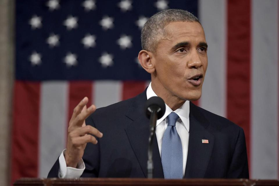 President Obama delivered the State of the Union address at the US Capitol.