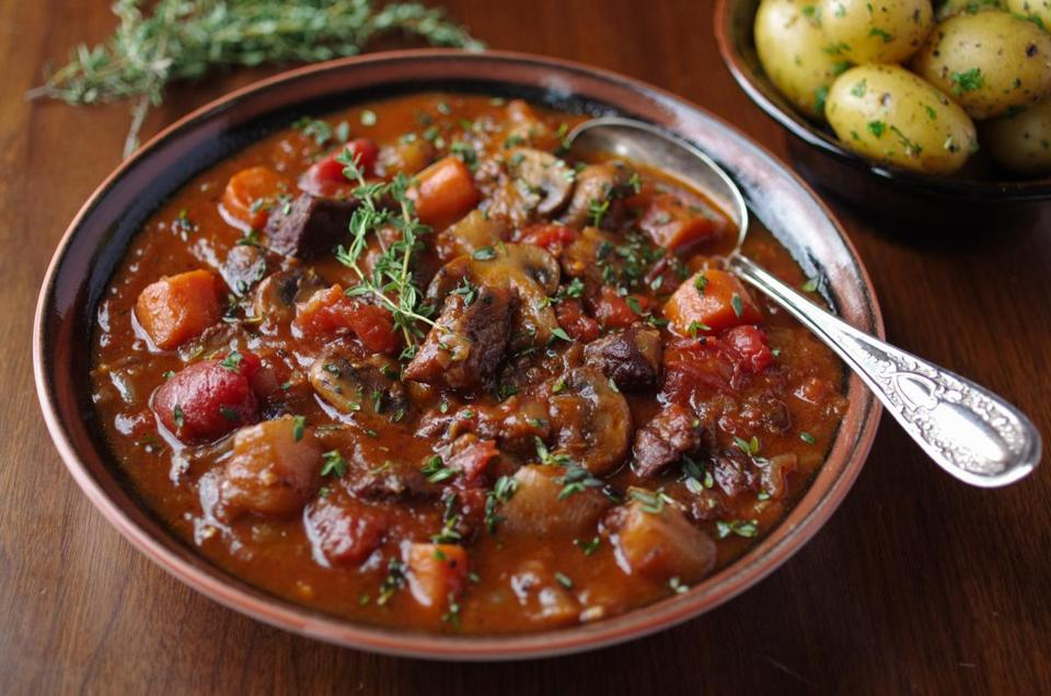 Recipe for beef stew