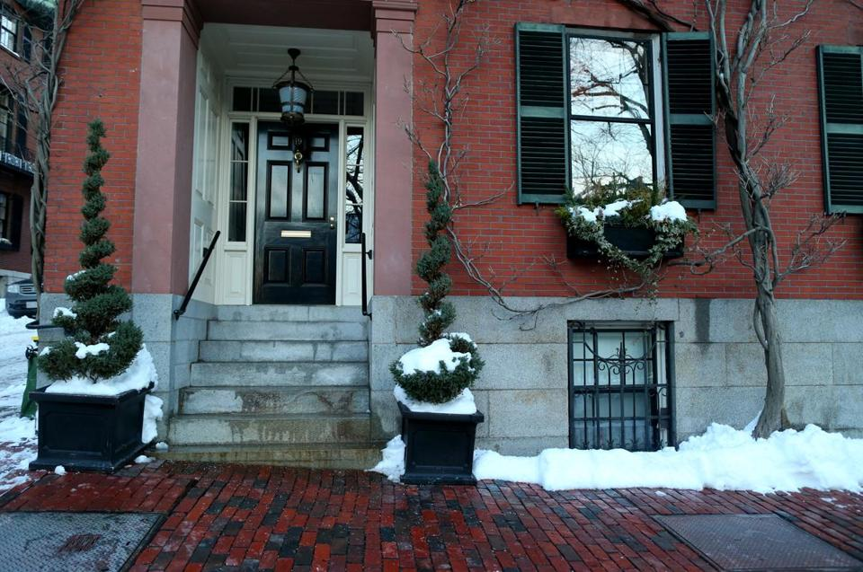 The Louisburg Square home of Secretary of State John Kerry.
