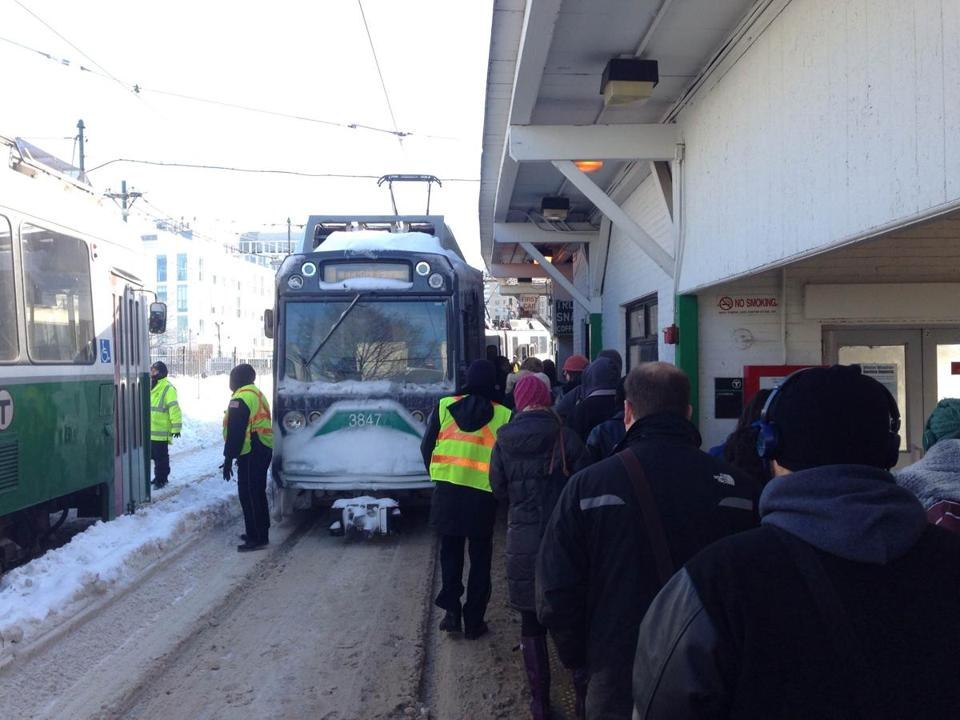 The MBTA system has lurched and sputtered this past week, leaving throngs fuming in the cold about commutes nasty, brutish, and long.