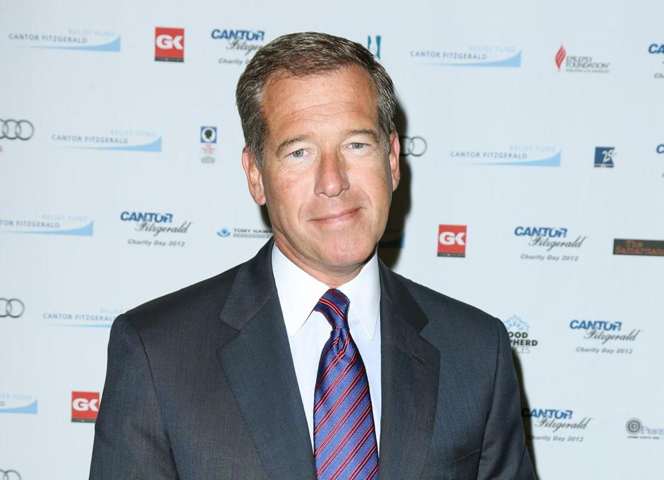 Brian Williams retracted a statement that he was in a helicopter that was shot down in Iraq in 2003.