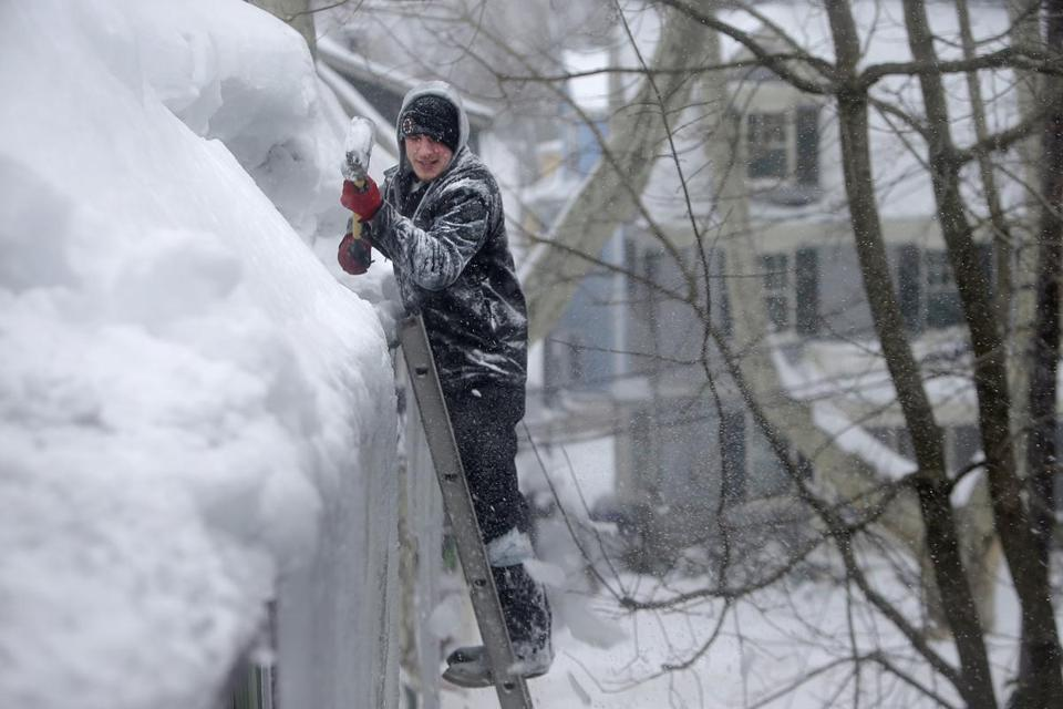 Insurance Claims On The Rise As Snow Piles On The Boston