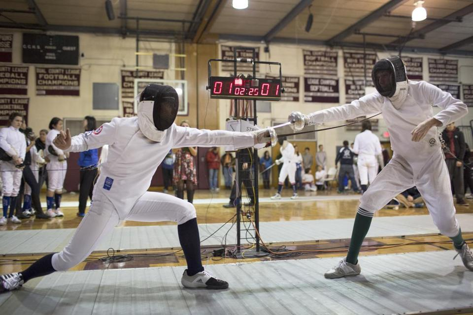 Concord-Carlisle's fencing team has been around for 50 years.