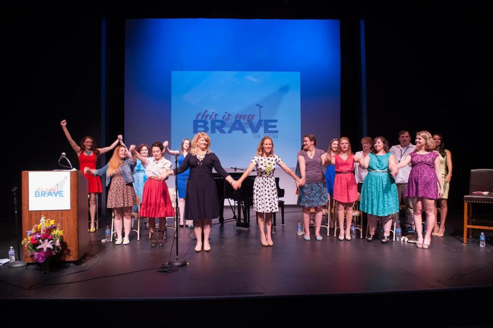 """This Is My Brave"" is a nonprofit theater for teens to share their stories."