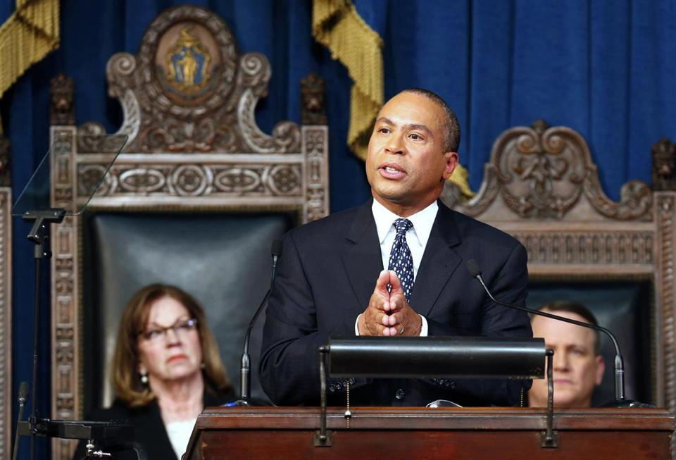 In 2013, then-Governor Deval Patrick pitched a $1.9 billion tax increase to fund rail lines all over the state, boost MBTA funding, and expand early education.