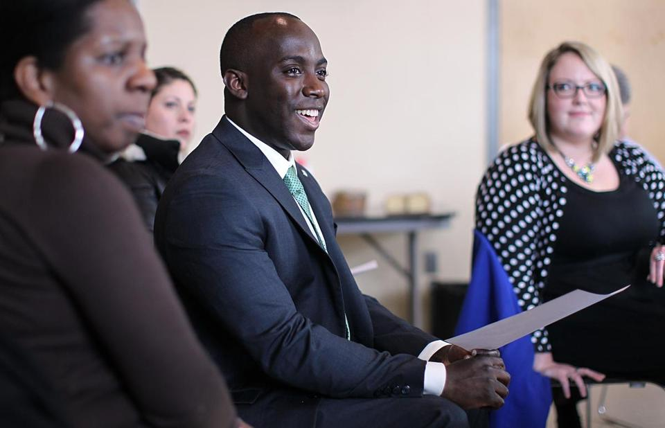 Shaun Blugh, 30, has been appointed the City of Boston's first-ever chief diversity officer.