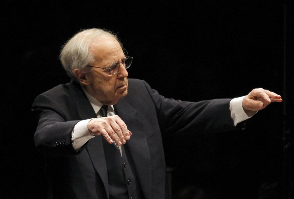 At 90, conductor Pierre Boulez honored with new box set