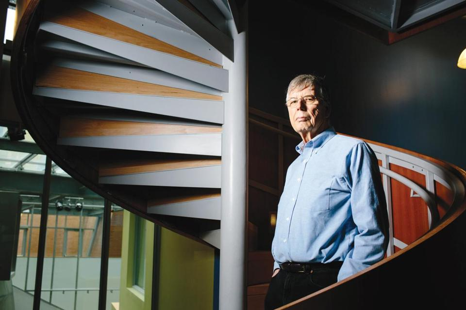 Michael Stonebraker was an early builder of database systems.