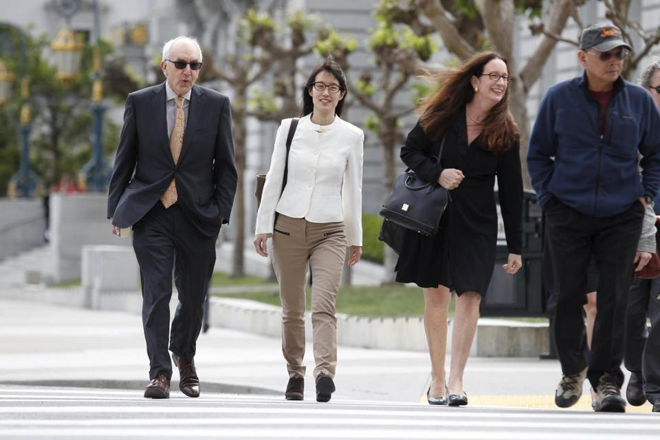 A jury decided that a prestigious venture capital firm did not discriminate or retaliate against Ellen Pao (pictured arriving at the courthouse Friday).