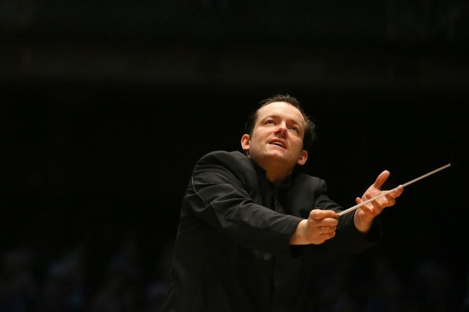Andris Nelsons is the music director for the Boston Symphony Orchestra.