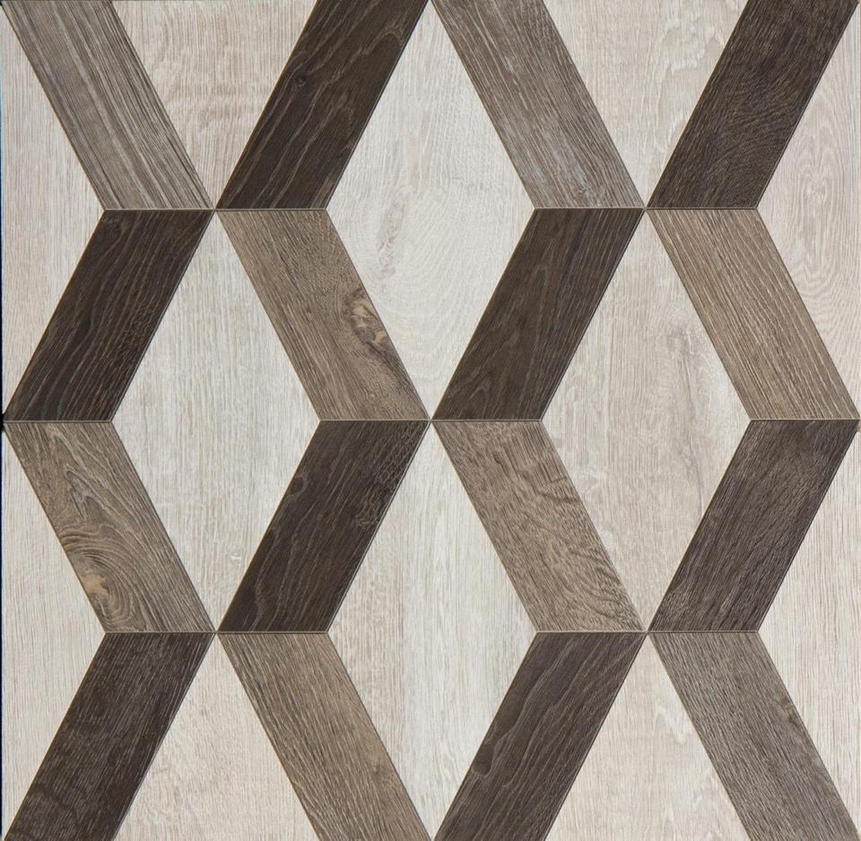 Oxford porcelain and marble tile from Walker Zanger.