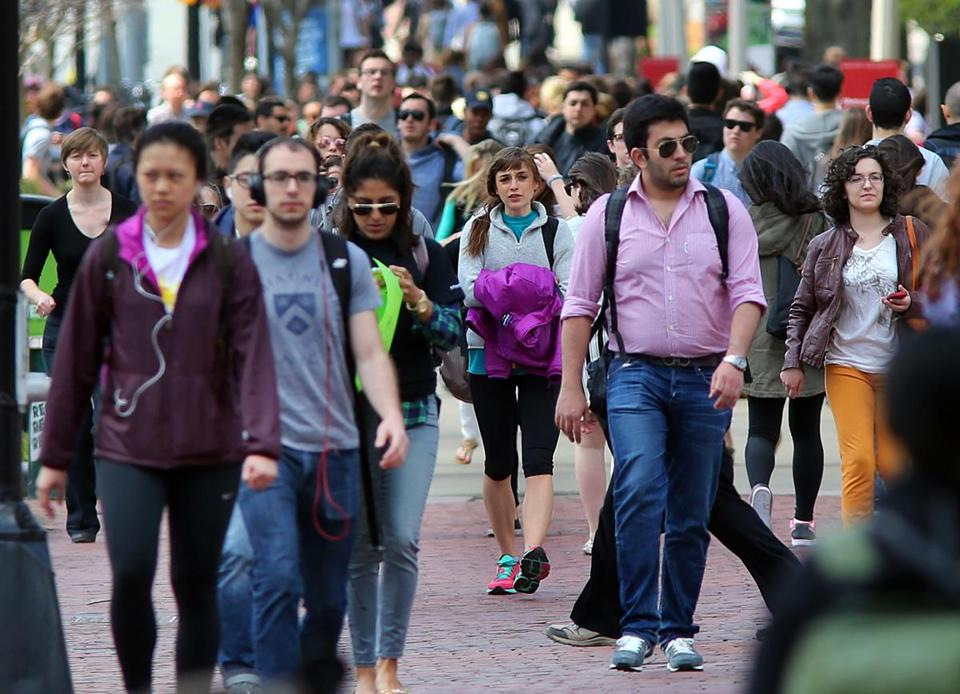 Only 3 percent of Boston University students are black, and many area schools lag the US average of 15 percent. John Tlumacki/Globe Staff