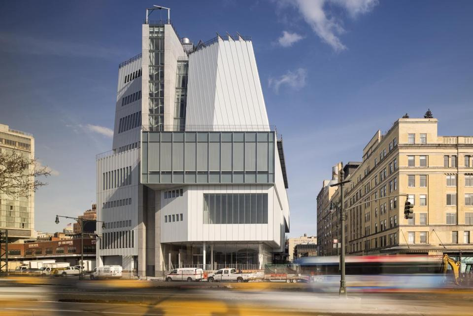 The Whitney Museum of American Art in New York allows natural light into its galleries.