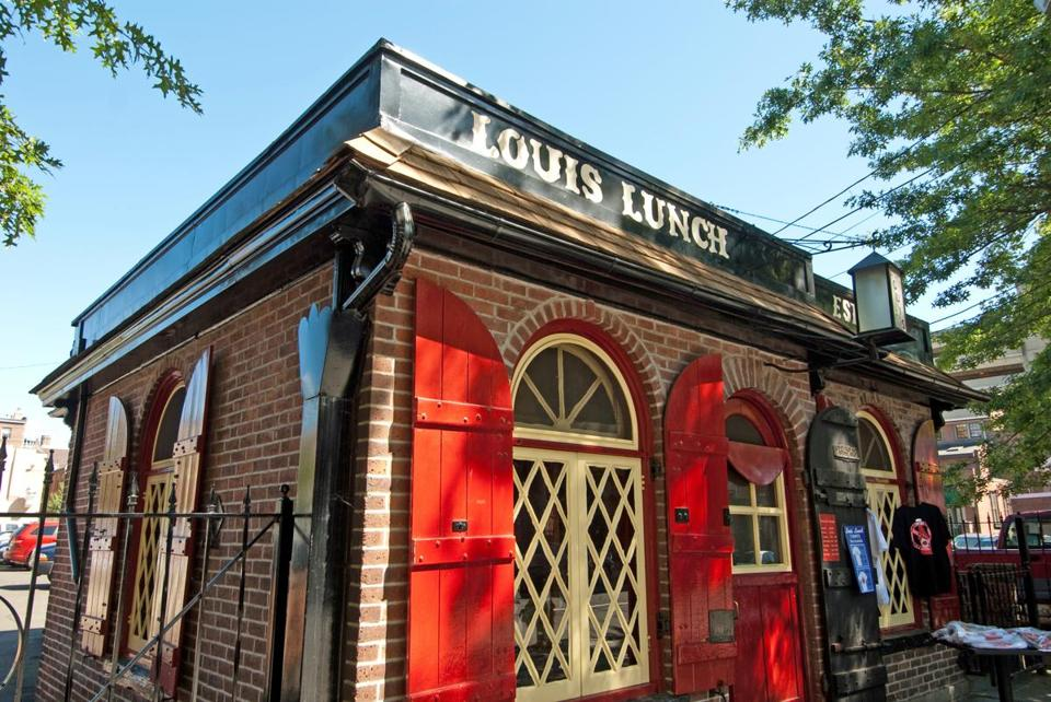 10newhaven - Where was the hamburger invented? Anyone in New Haven will tell you, it was right here at Louis Lunch. (Kindra Clineff)