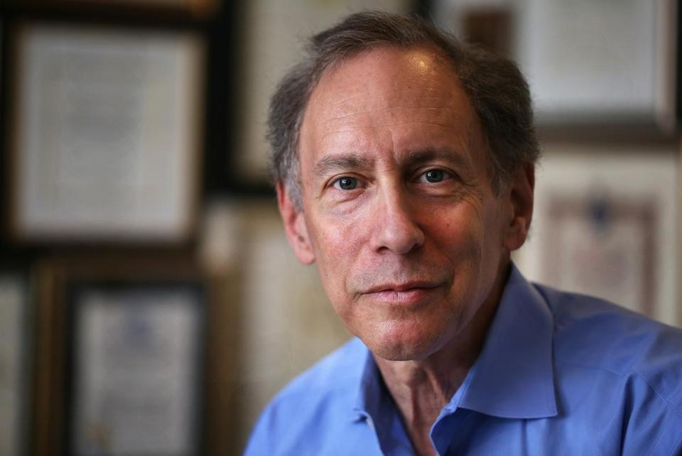 Cambridge, MA--4/30/2015--Robert Langer (cq), of MIT's Langer Labs, is photographed, on Thursday, April 30, 2015. Photo by Pat Greenhouse/Globe Staff Topic: 051015first Reporter: XXX