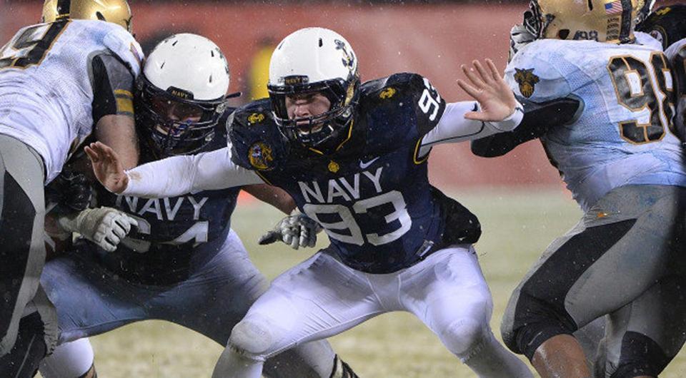 Cardona joins elite company as Navy draft pick