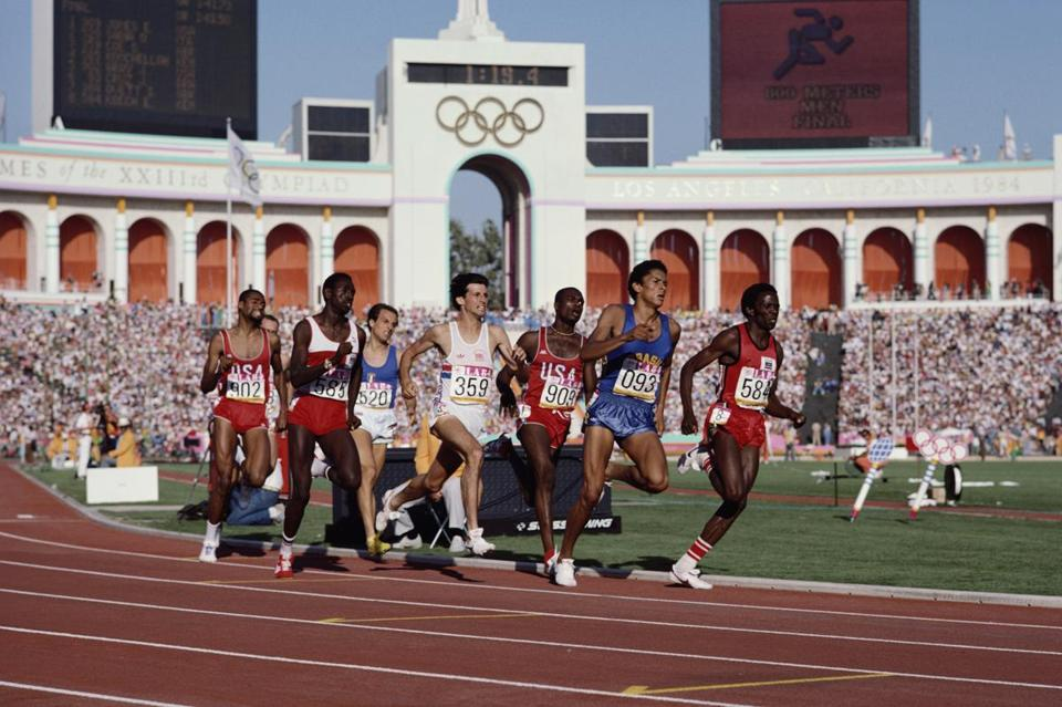 Los Angeles was always the simpler choice for the  Olympics, with most key venues, starting with the Coliseum, in place.