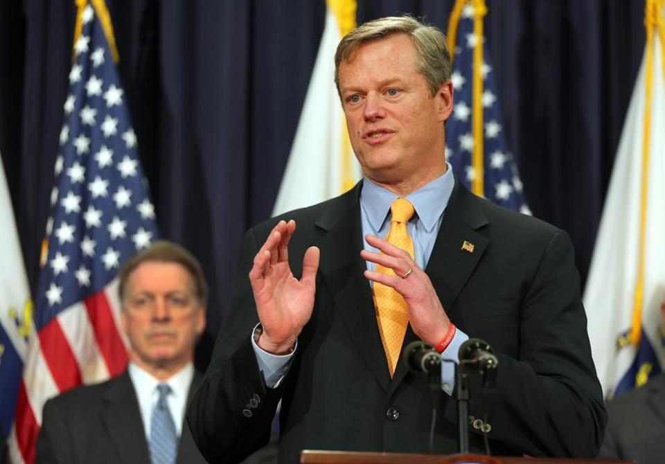 Governor Charlie Baker held a press conference to speak about a special panel he assembled for his plan to overhaul the MBTA.
