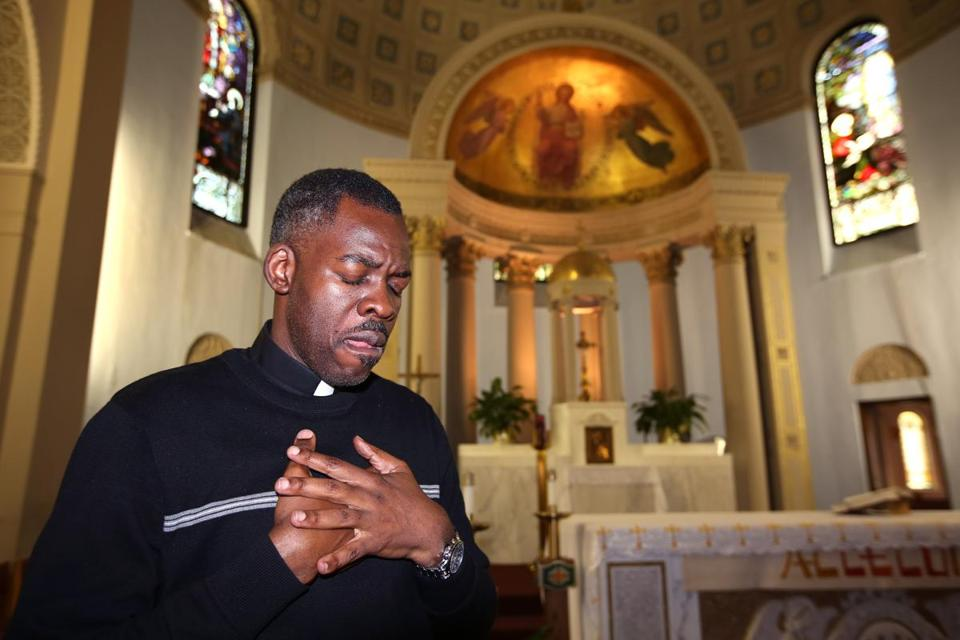 The Rev. Gustave Miracle of St. Angela Merici Parish in Mattapan said Sunday he did not support the death penalty for Tsarnaev.