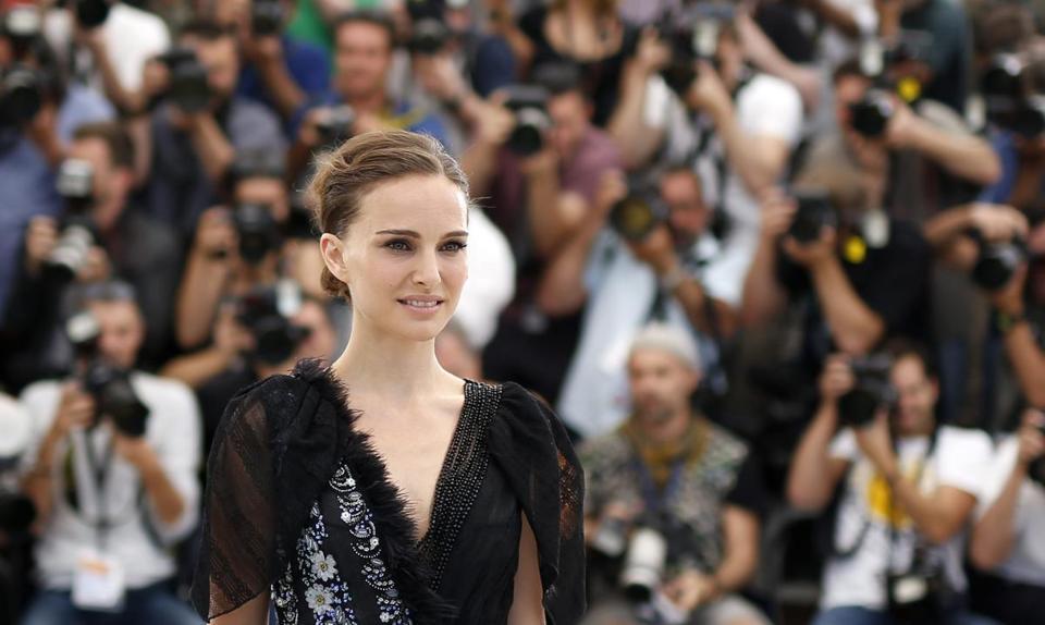 Natalie Portman at the Cannes Film Festival.