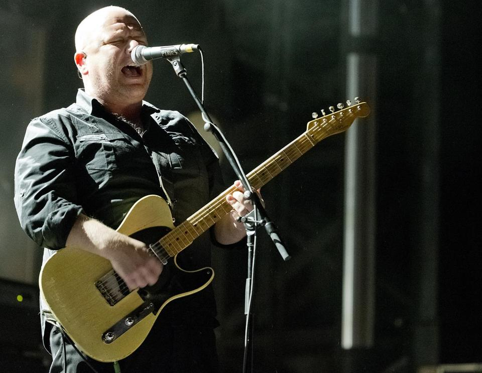 Boston MA 5/24/15 Black Francis lead singer with the Pixies the closing act at the Boston Calling Music Festival in City Hall Plaza on Sunday May 24, 2015. (Matthew J. Lee/Globe staff) Topic: Reporter: