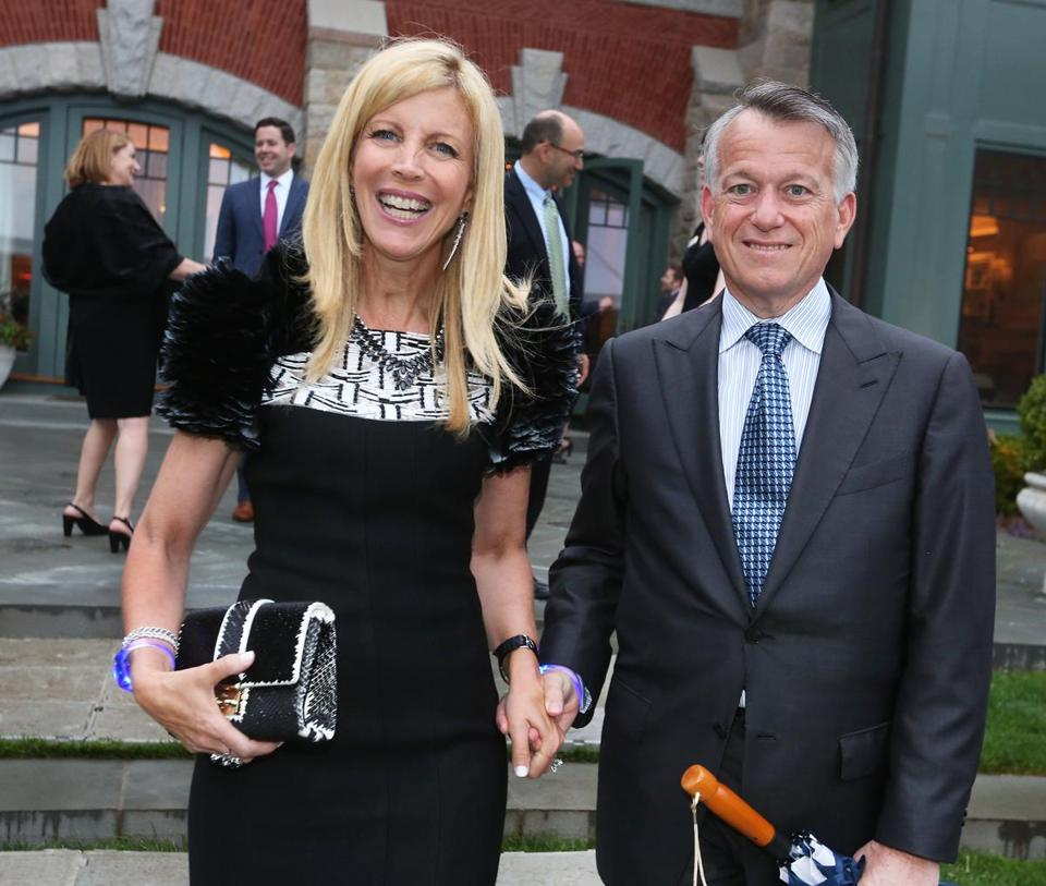 Boston 2024's benefactors in the $100,000-and-up category include Sandy and Paul Edgerley.