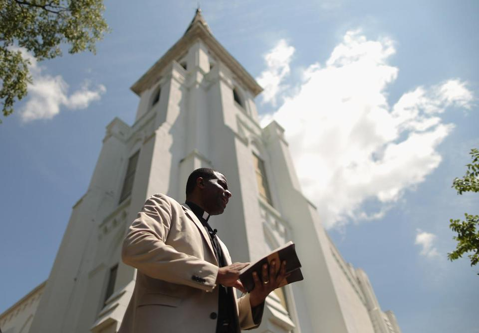 Nine People Killed in Charleston Church Shooting; Massacre Suspect Dylann Storm Roof Arrested 477896614