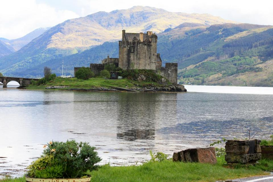 Just before Skye is Eilean Donan, a restored 13th-century castle.