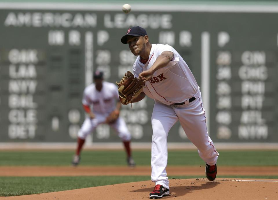 Eduardo Rodriguez may need to increase his leg strength.