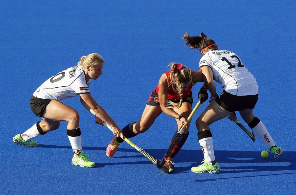 Field hockey is just one of the sports being relocated (from Harvard to BC) in the 2.0 version of Boston 2024's plan.