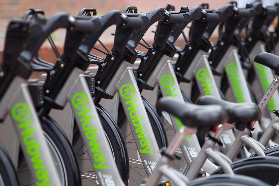 Hubway has no affiliation with World Naked Bike Ride Boston, but the company is cautiously aware that some participants could use its bikes.