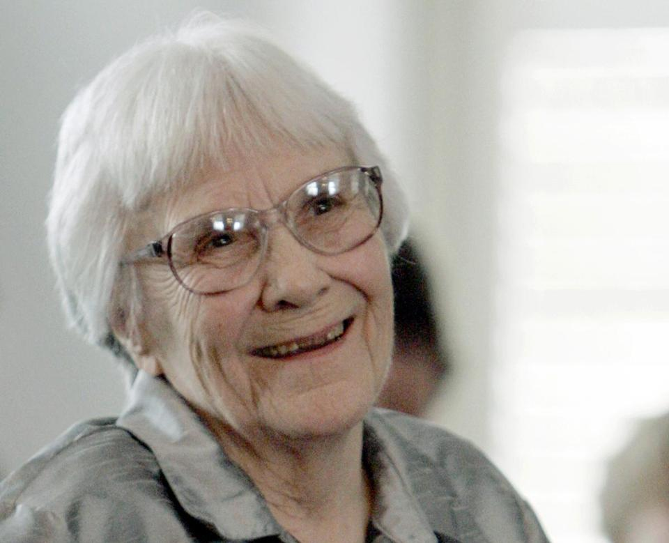 Author Harper Lee in 2007.
