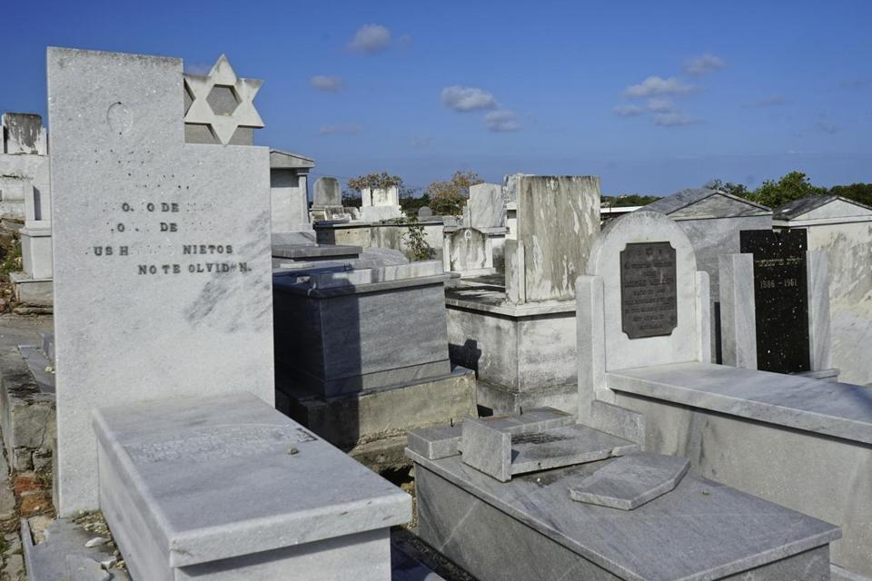 The United Hebrew Congregation cemetery for Ashkenazic Jews in Havana dates to 1906. Most of Cuba's 1,500 Jews live in the capital city